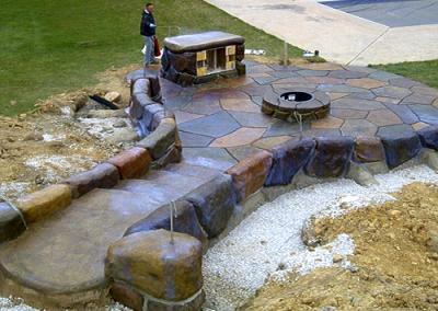 Making A Fire Pit