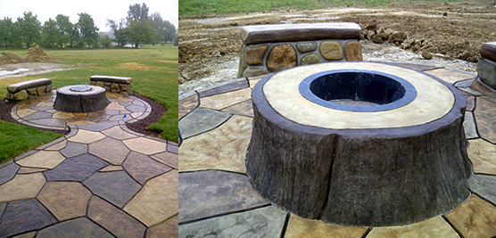 concrete-custom-fire-pit-midgett-concrete-construction-crown-point-indiana