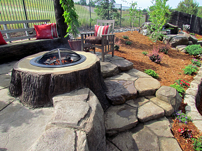 fire-pit-concrete-stamped-midgett-concrete-crown-point-indiana